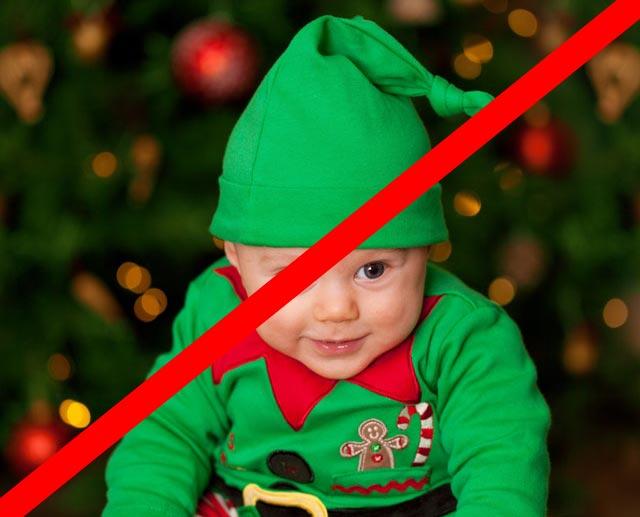 Banned xmas baby boy child FeedsyTrivia
